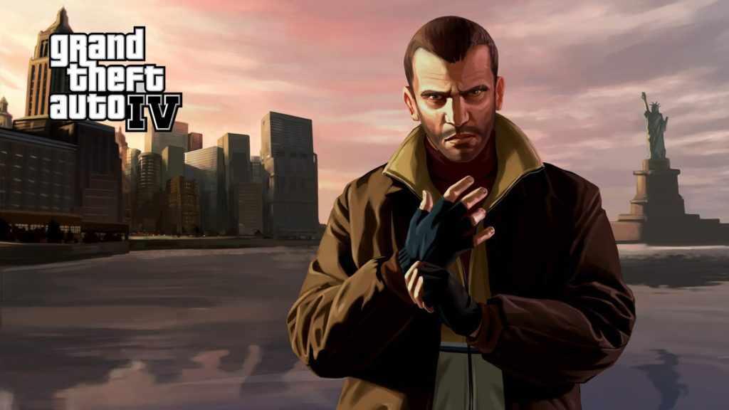 лучшие компьютерные игры - Grand Theft Auto 4