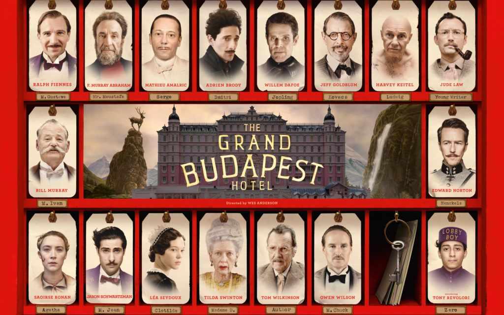 Лучшие фильмы с Эдвардом Нортоном - Отель «Гранд Будапешт»