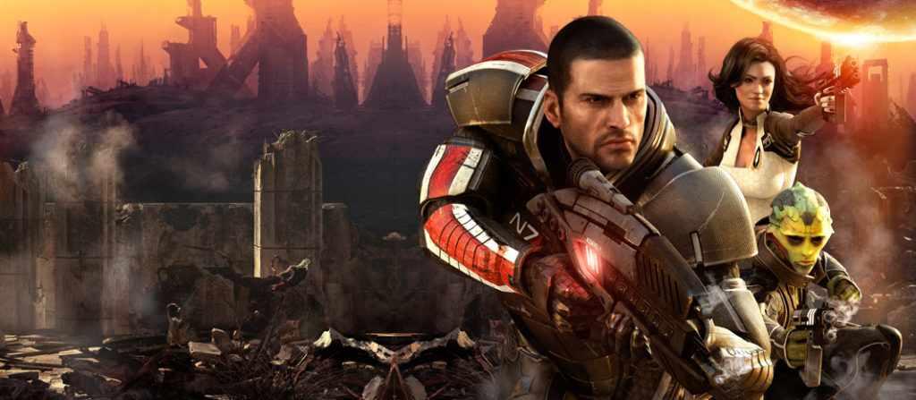 лучшие компьютерные игры - Mass Effect 2