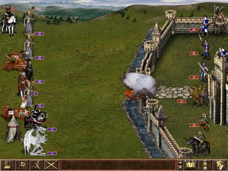 лучшие стратегии - Heroes of Might and Magic 3: The Restoration of Erathia